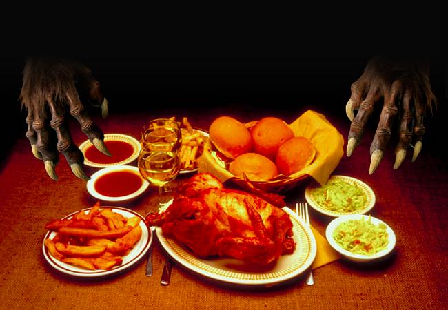 Bigfoot-Dinner
